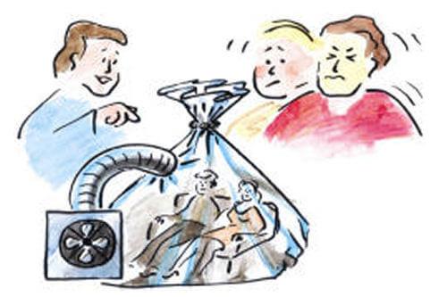 Die Nachteile von einem Passivhaus: Achtung - künstliche Beatmung!
